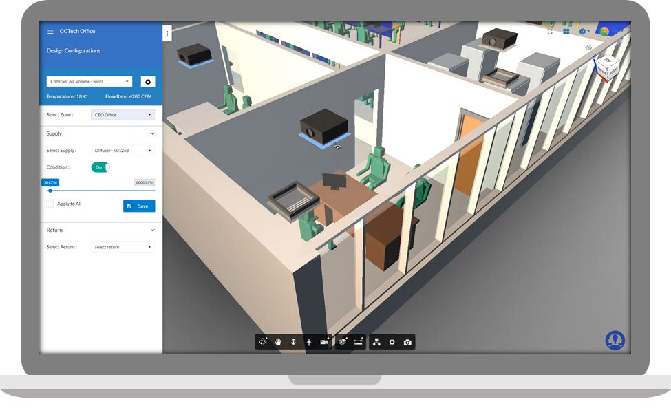 simulationHub's upcoming thermal comfort app